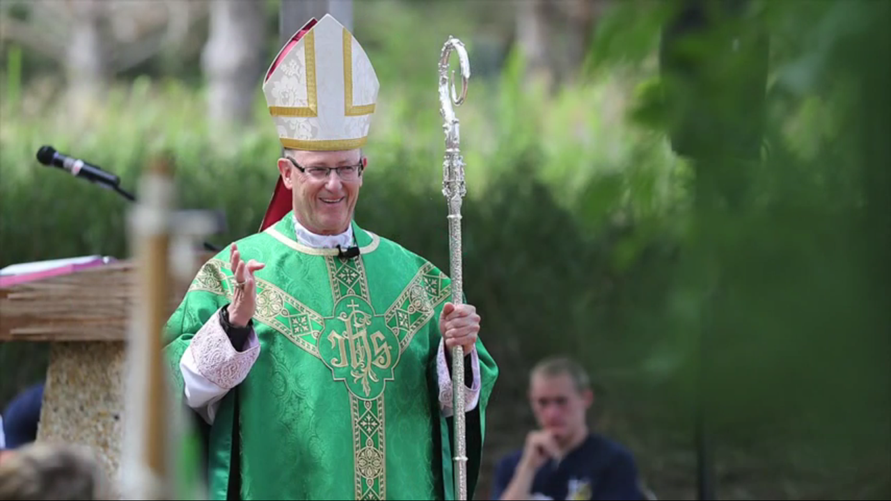 Bishop James D. Conley oversees the Catholic Diocese of Lincoln in Nebraska.