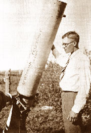 Clyde Tombaugh gained fame and a KU scholarship by identifying Pluto in 1930. (Image: NASA)