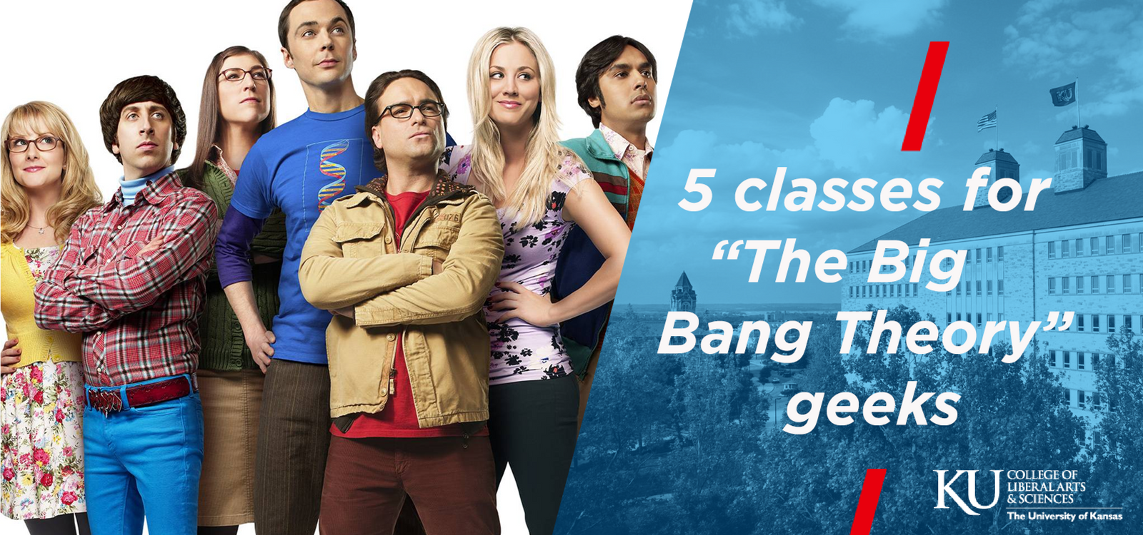 """5 classes for """"The Big Bang Theory"""" geeks"""