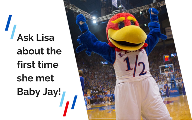 Ask Lisa about the first time she met Baby Jay!