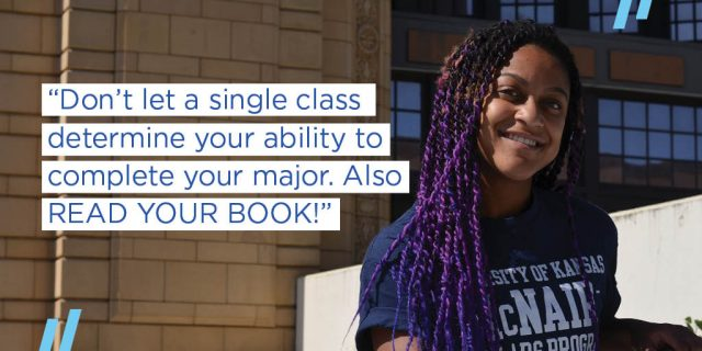 Don't let a single class determine your ability to complete your major. Also READ THE BOOK!